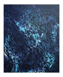 """Rafael Sliks """"Marinho"""" Oil on canvas 95 x 115 cmcm."""