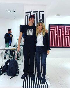 l'Atlas et Géraldine Zberro lors de l'exposition Steps