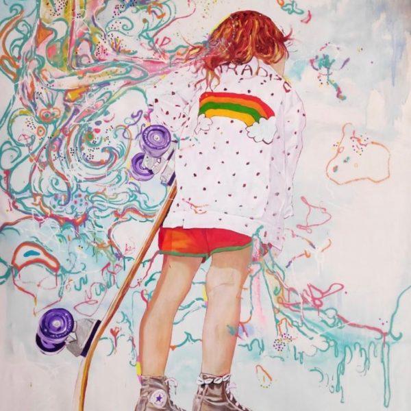 "Ramon Martins ""Paradise""  157 x 107 cm;"
