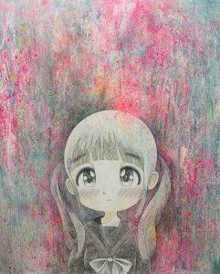 Kojiro Matsumoto 80 x 65 cm.