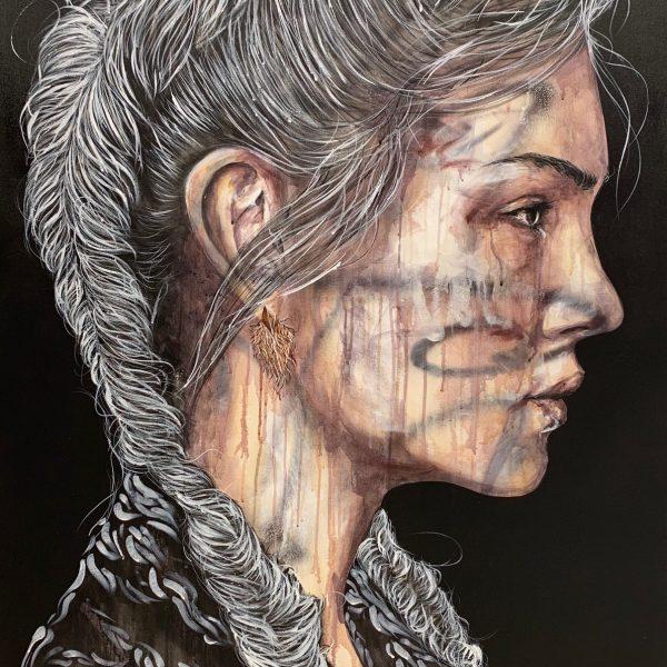 """Antoine Stevens """"Pia"""" 150 x 100cm."""