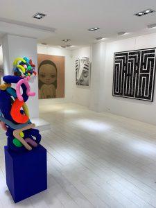 Pascal Vilcollet @Galerie geraldine Zberro