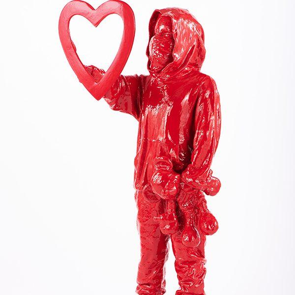 """James Colomina """" Coeur""""à la Galerie Géraldine Zberro Paris8"""
