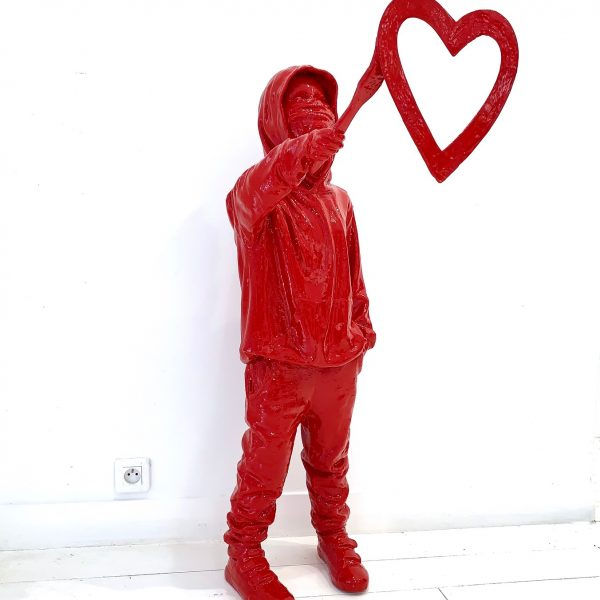 "James Colomina ""Heart"" 112 cm."