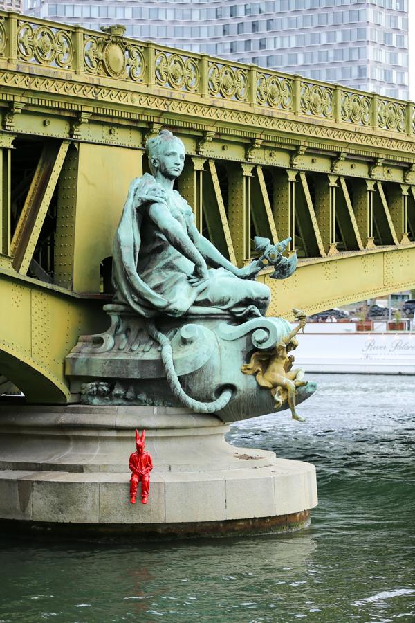 James Colomina Pont Mirabeau a Paris.