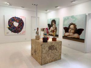 "Groupshow ""Children and game"" @galeriegeraldinezberro"